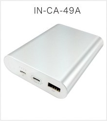 Aluminum alloy shell 12V 16V 19V portable charger 20000 mah for notebook and macbook