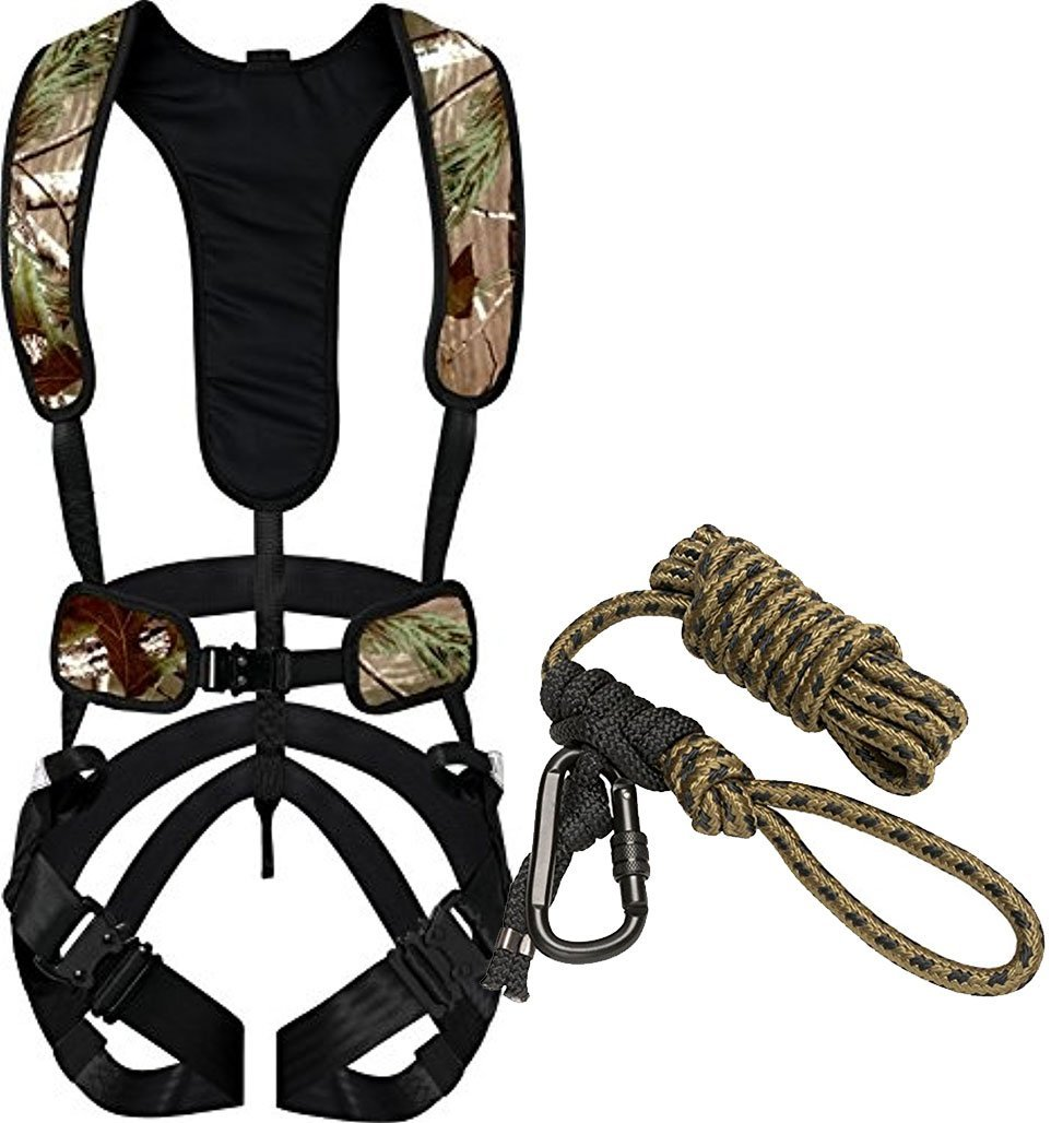 05cc454f1615d Get Quotations · Bundle Includes 2 Items - Hunter Safety System Bowhunter  Harness, Large/X-Large
