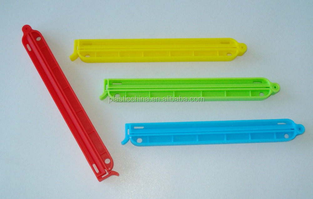 Fashion Promotional plastic clips and fasteners