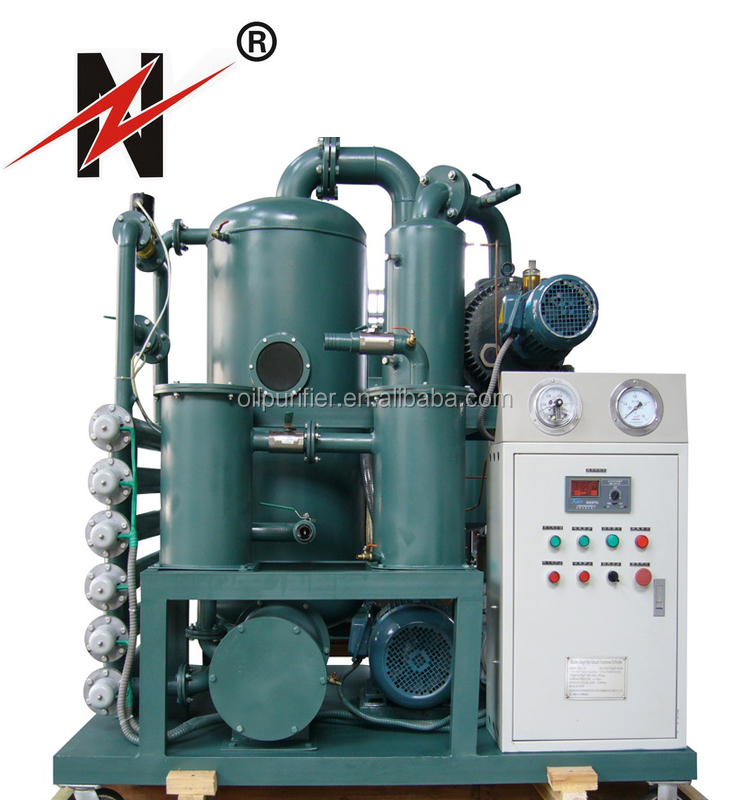 ZYD Series China Ultra Efficient Double Stage Vacuum System Transformer Oil Filtration Electrostatic Oil Purifier