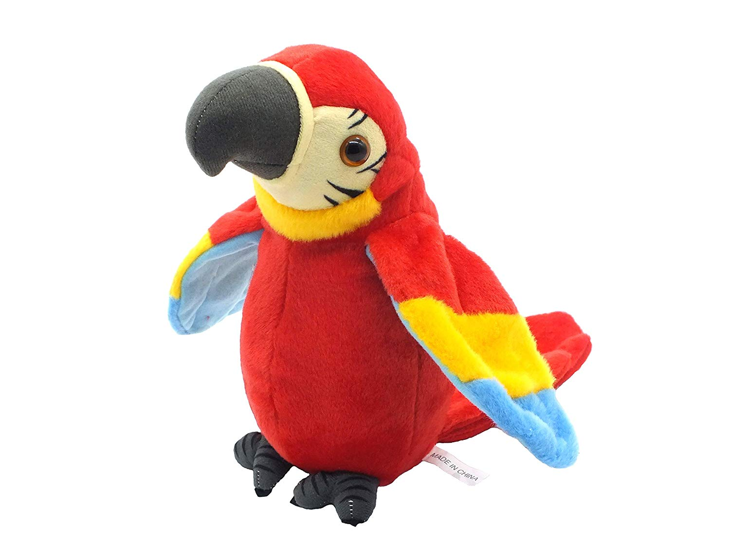 Get Quotations · Talking Parrot No Matter What You Say Will Repeat What You  Say Funny Learning Good Helper e1f9f64582