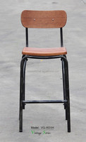 Triumph wood furniture bar stool for heavy people / metal chair bar stool