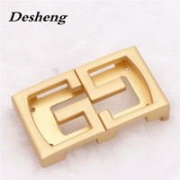 Gold plated easy clip Belt buckle screws wholesale