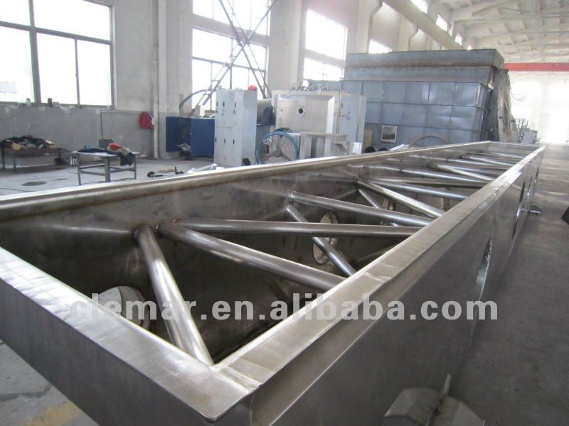 Salt fluid bed dryer / Vibrating fluidized bed dryer