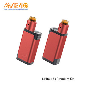 New Products Vapor Starter Kits 510 Drip Tips CoilArt Dpro 133 Premium Kit Powered By Dual 18650 Batteries