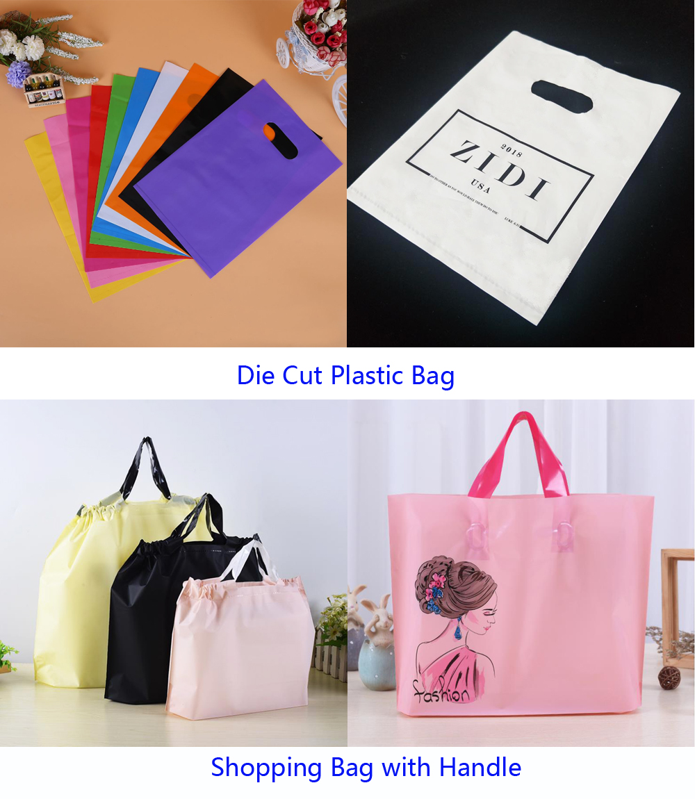 Translucent PVC Clear Plastic Bags Design Zipper Bags Logo Frosted Poly Bags For Clothes Shirt Swimwear Packaging