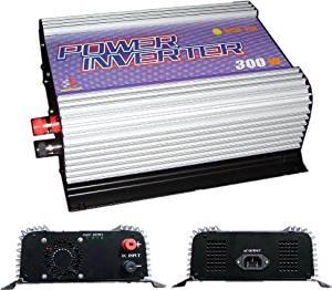 SunGoldPower 300W Grid Tie Inverter For Solar Panel System DC 10.8V - 30V AC 90V-140/190~260V(Optional)