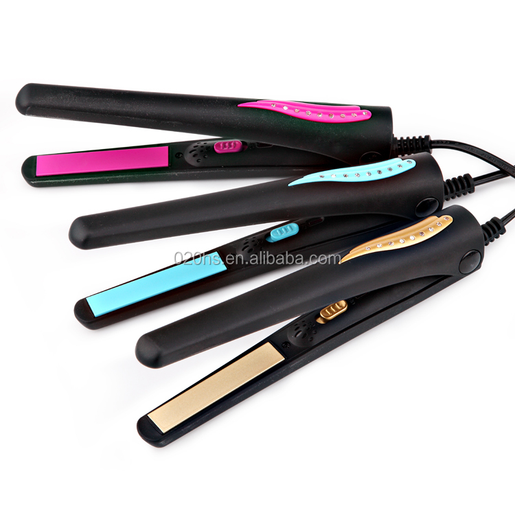 Mini Portable Ceramic Flat Hair Straightener Irons Styling Tools