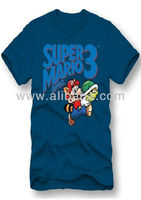 Super Mario design Cotton T-Shirts