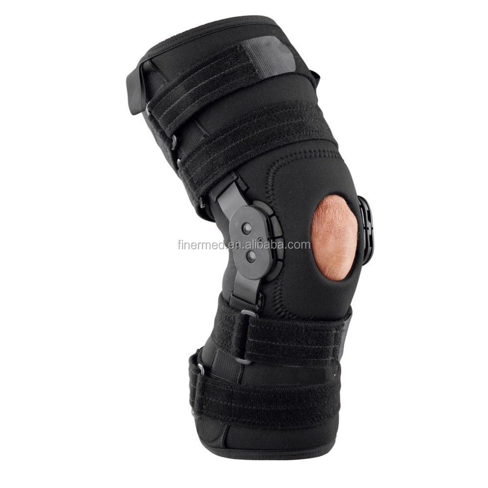 Adjustable Pain Relief ROM Hinged Knee Support