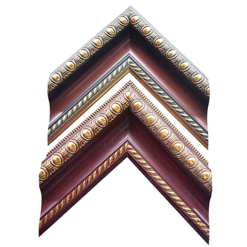 3inch Antique Wood Grain PS Photo Frame Picture Frame Moulding