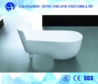 DHECN 2017 New high quality enameled freestanding cast iron bathtub for wind power plant