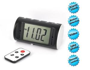 Hot Digital Motion Detection Alarm Clock Security Hidden Camera Mini DVR Vedio
