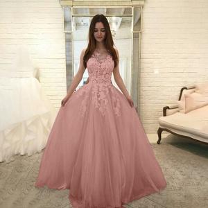 Womens Slim Fit Solid Color Lace Patchwork Elegant Wedding Bridesmaid Maxi Long Dress