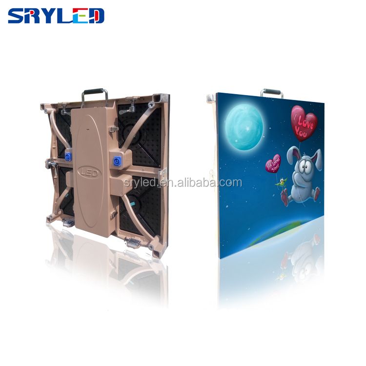 Light Weight Indoor 500x500mm  P4.81 Die-castin Panel for Rental Usage