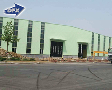 Qingdao Cheap Construction Structural Steel Industrial Shed Designs Prefab Workshop Buildings