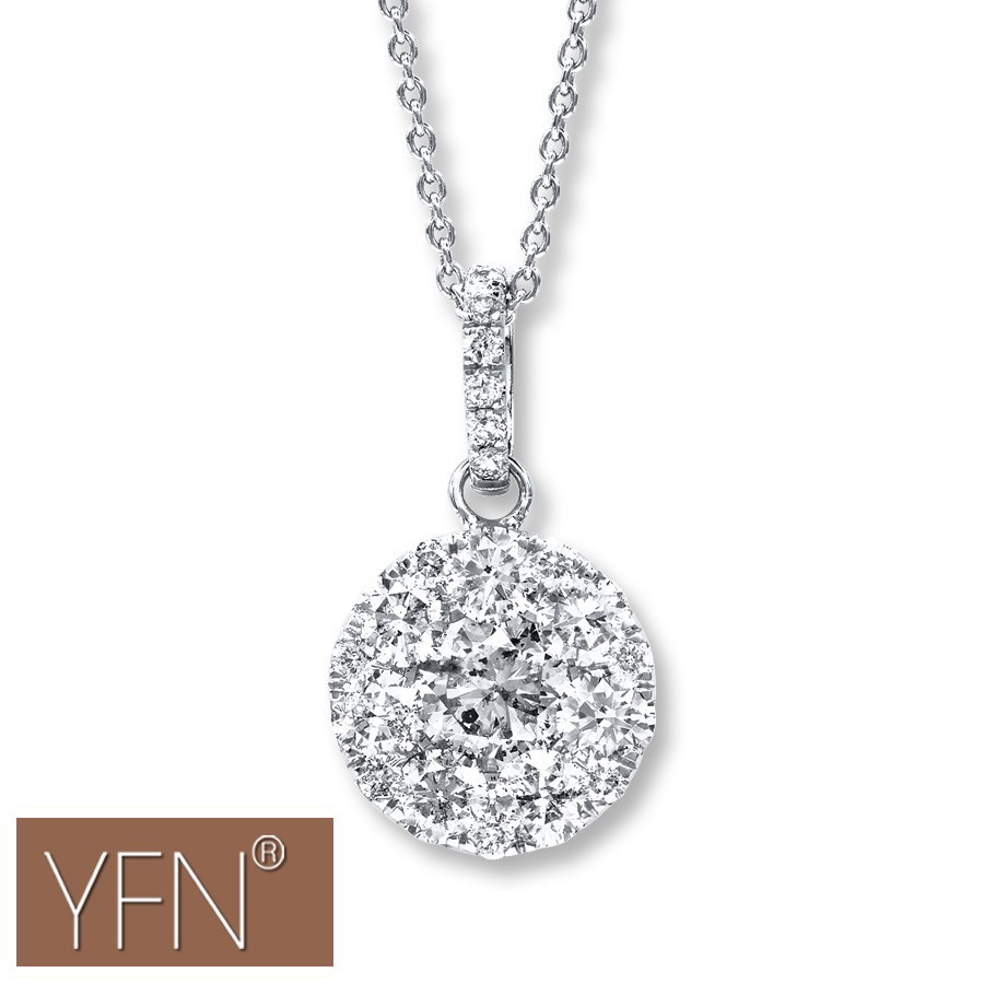 Crystal Sphere Ball Necklace Pretty Liquid Silver Frozen Necklace Jewelry