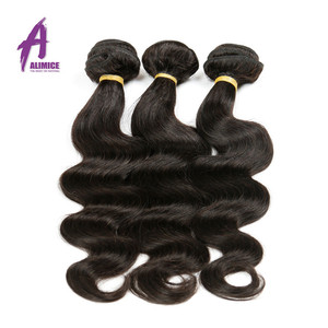 Mongolian Body wave Double weft Virgin Human hair extension, 100% thick bottom Single donor hair bundles in Mozambique