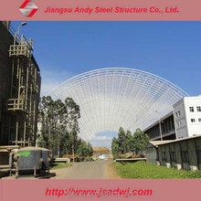 Steel Structure Coal Storage Shed Design for thermal Power Plant