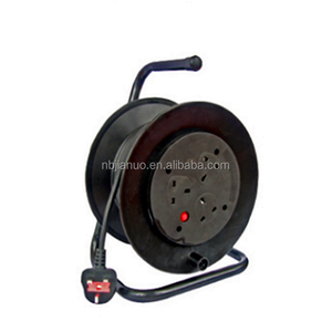 UK Extension Cable reel with UK plug and cable H05VV-F