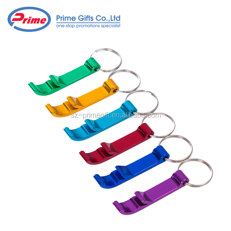 Hot Selling Aluminium Metal Bottle Opener Keychain with Your Logo