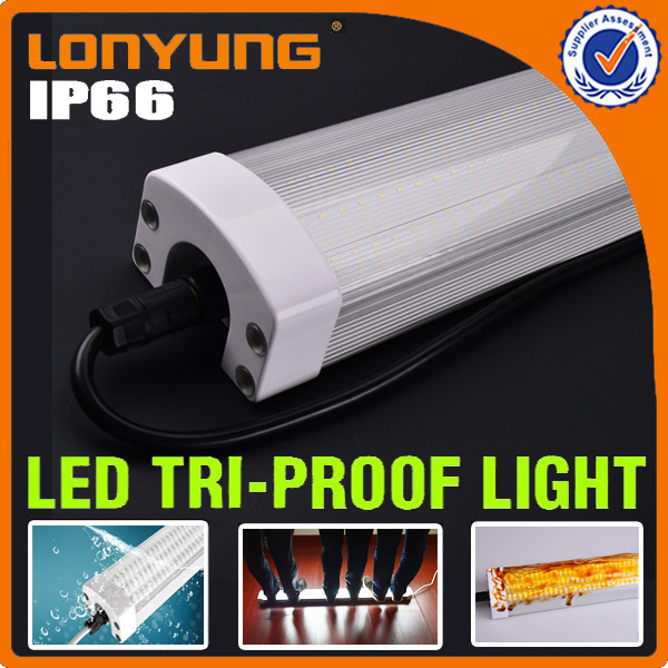 Wholesale IP65 Waterproof Tri Proof Light Link Up To 600W Led Batten Lighting