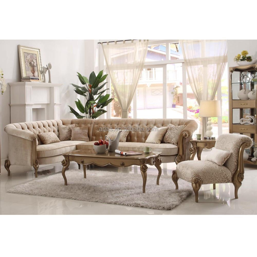 Nieuwe klassieke 5719# hoekbank nieuwste ontwerp woonkamer sofa ...