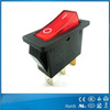 Widely used Illuminated 3 position rocker switch wiring T105 1E4 with light