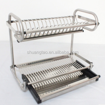 Advantaged Dish Drying Rack System Container