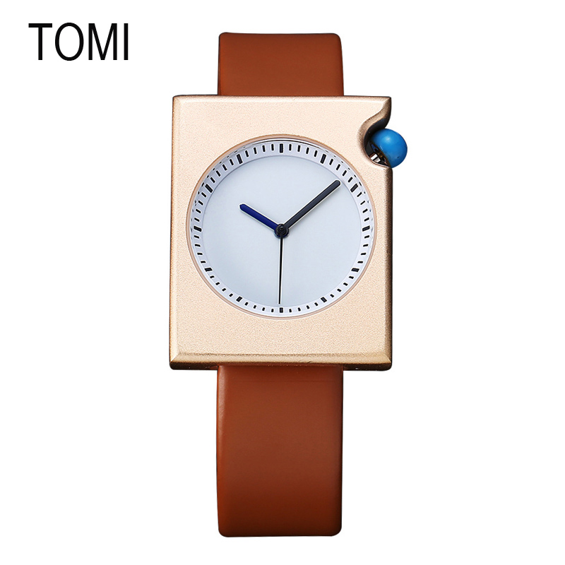 WJ-6484 Hot sale Wholesale Alibaba Square Dial Popular Quartz TOMI Watch фото