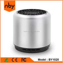 OEM ODM NBY Brand Cheapest Light Promotional Gift 3W Subwoofer Portable Mini Bluetooth Speaker with Polymer Rechargeable Battery