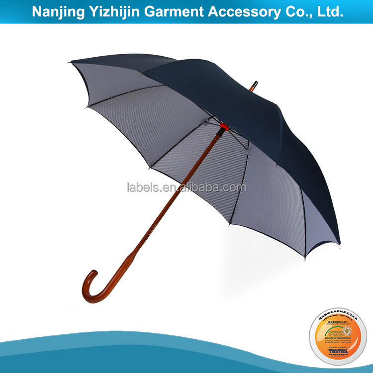 Promotional Golf Umbrella with Wooden Handle for Advertisement