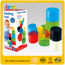 hot sale educational toys speed stacking cup professional plastic baby stacking cup