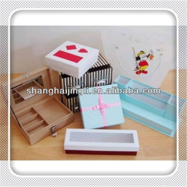 Luxury Paper Jewellery Box for watch, necklace, ring, hand catenary
