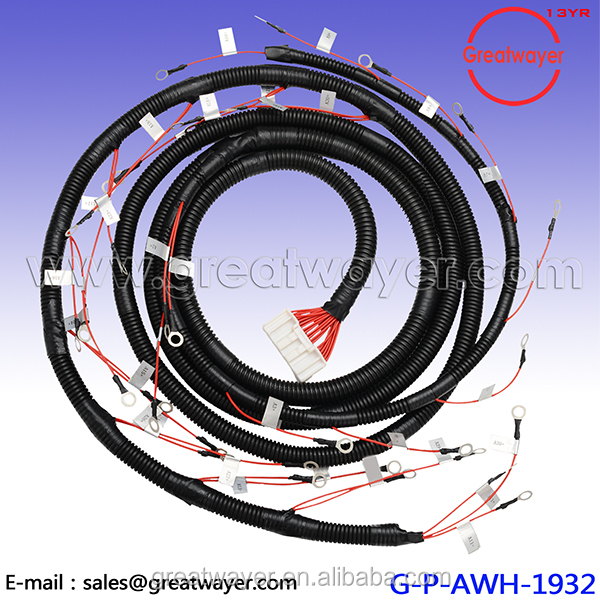26 Pin Housing Wire Harness Cable M8 26 pin housing wire harness cable m8 ring connector loom 16 pin wiring harness at sewacar.co