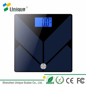 Bathroom weighing usb body fat bmi calculation weighing scale
