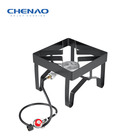 Fashion outdoor portable gas cooker cast iron burner BBQ camp stove