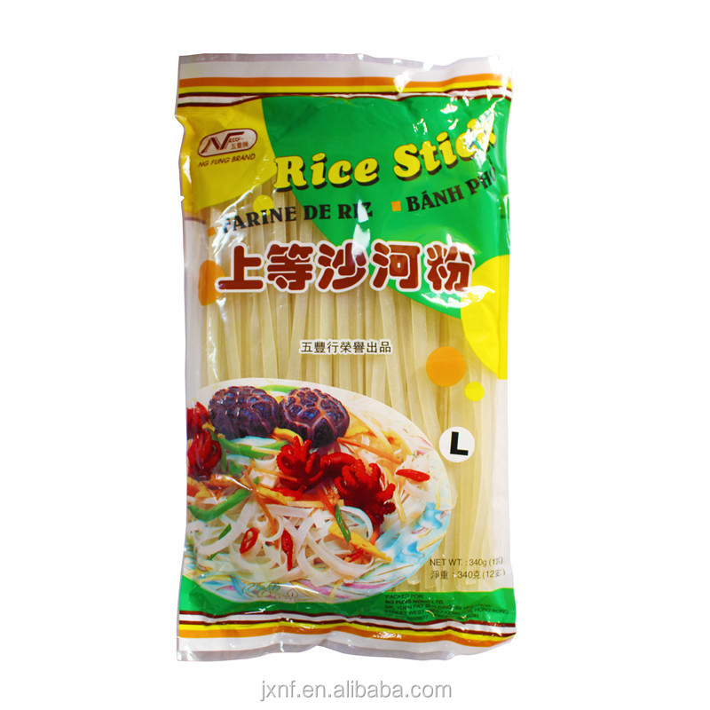 100% rice gluten-free low fat Ho Fen rice stick broad rice noodle