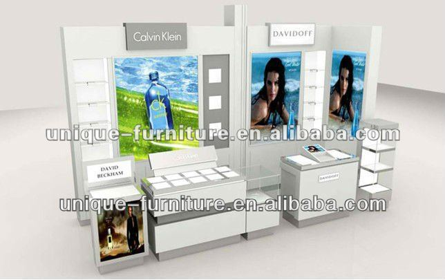 Modern Fashion Cosmetic Counters Design for AUPRES/OLAY/Maybelline/L'Oreal