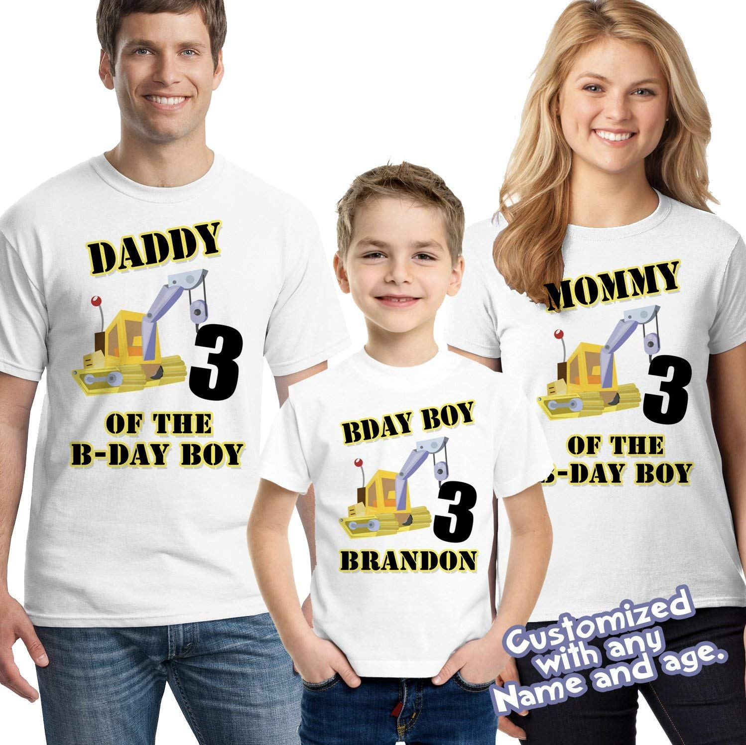 Construction Party Birthday Shirt