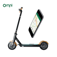 New design Omni remote control with QR code sharing scooter gps electric scooter lcetric scooter