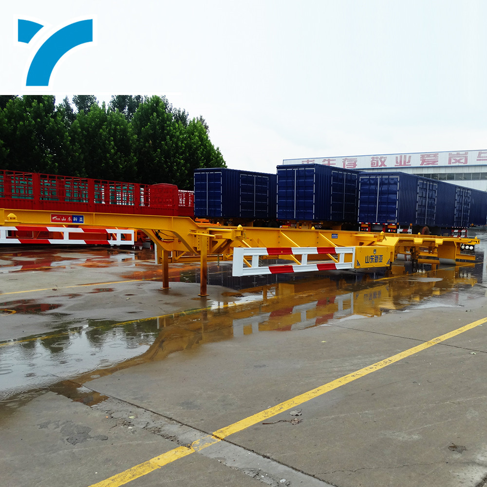 Fabricación de remolques de China, contenedor de transporte, utilidad, de 20 pies contenedor de carga y 40 pies, camión semirremolque