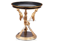 Living Room Furniture Golden Centre Table, Arrow Feet Design Living Room Coffee Table Furniture
