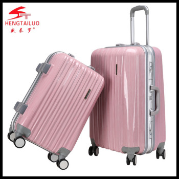 Abs 3 Pcs Set Hard Shell Drawbar Factory Plastic Travel Trolley ...
