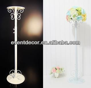 Tall Wedding Decoration Flower Stand,Wrought Iron Flower Stand For ...