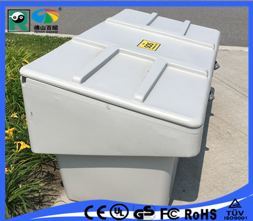 Waterproof three-phase electric meter box boxes with UV material