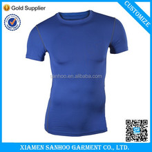 OEM Top Quality Plain Sports Drifit T-Shirt Customized Printing Polyester Spandex