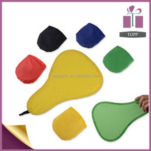 Promotional nylon foldable frisbee fan with pouch