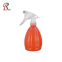 Industrial kitchenware cleaning empty plastic spray bottle with trigger