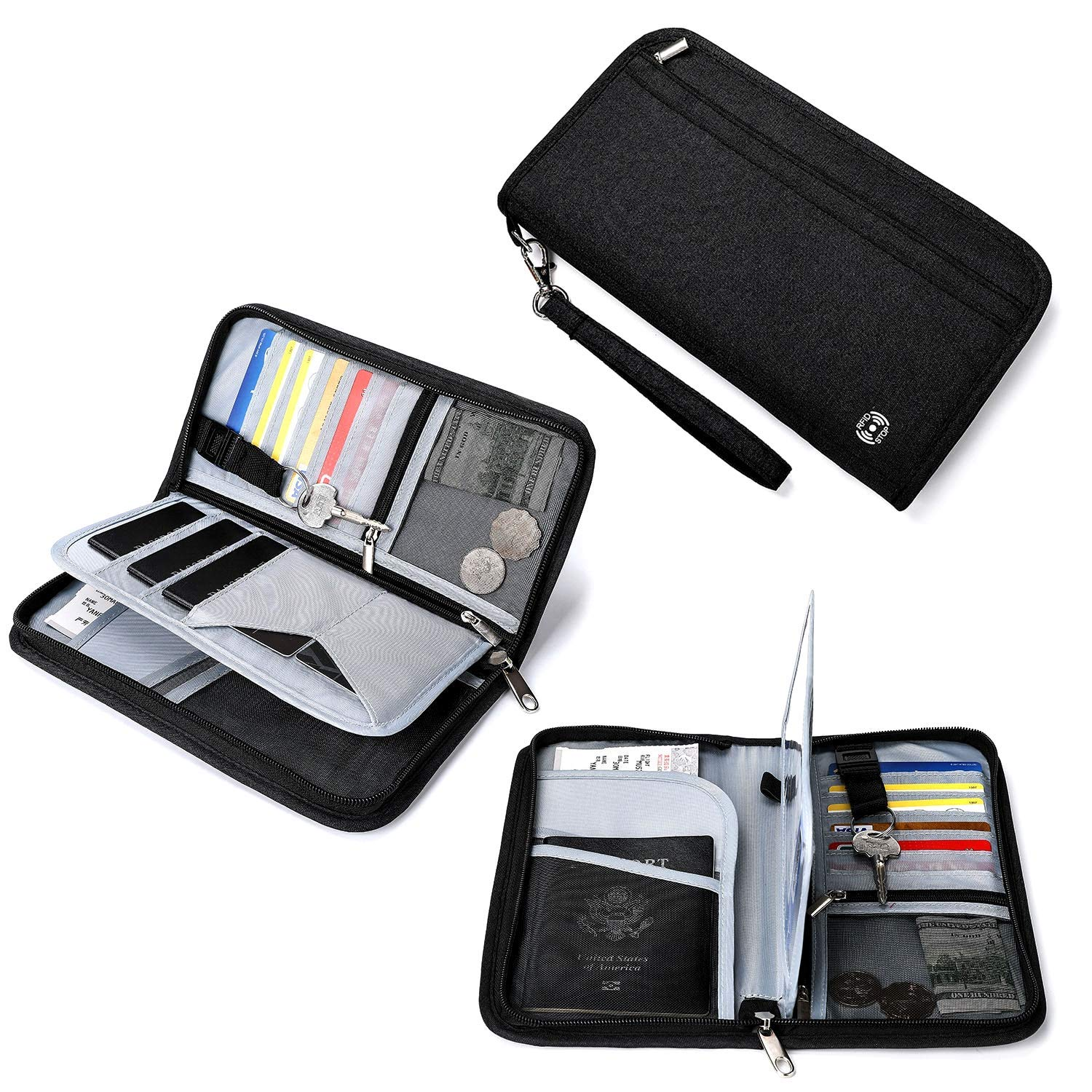 Buy JAVOedge Travel Wallet Passport and Document Holder (4